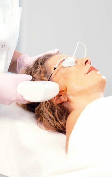Mooier resultaat na huidbehandeling met huidsupplementen